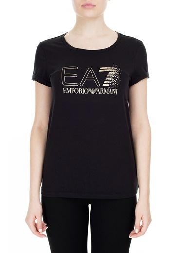 EA7 Emporio Armani  T Shirt Kadın T Shırt S 6Gtt24 Tj12Z 1200 Siyah